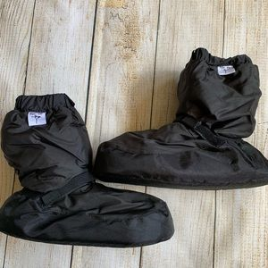 Forte Black Dance Warm up Boots